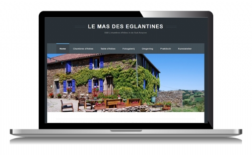 Website voor bedandbreakfast