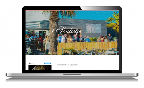 Website voor cafe
